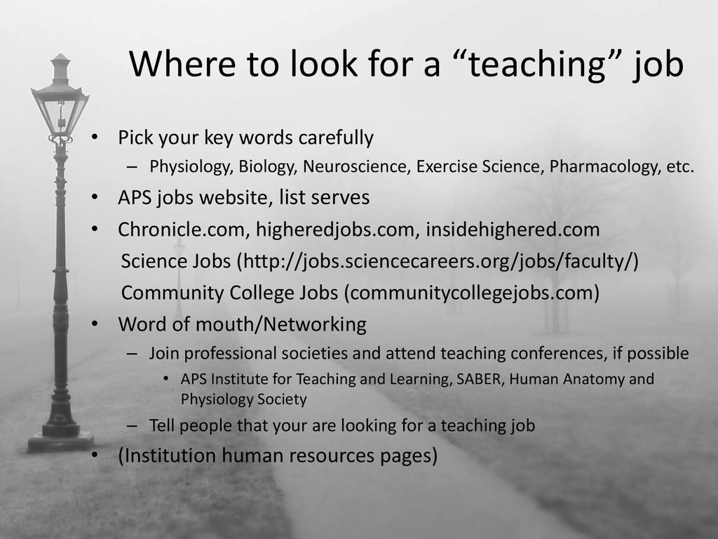 "The Many Facets of a ""Teaching Career"" - ppt download"