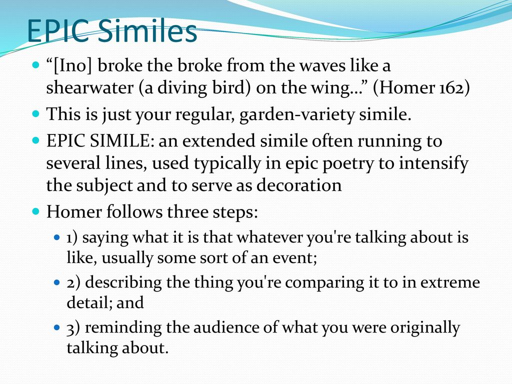 extended simile