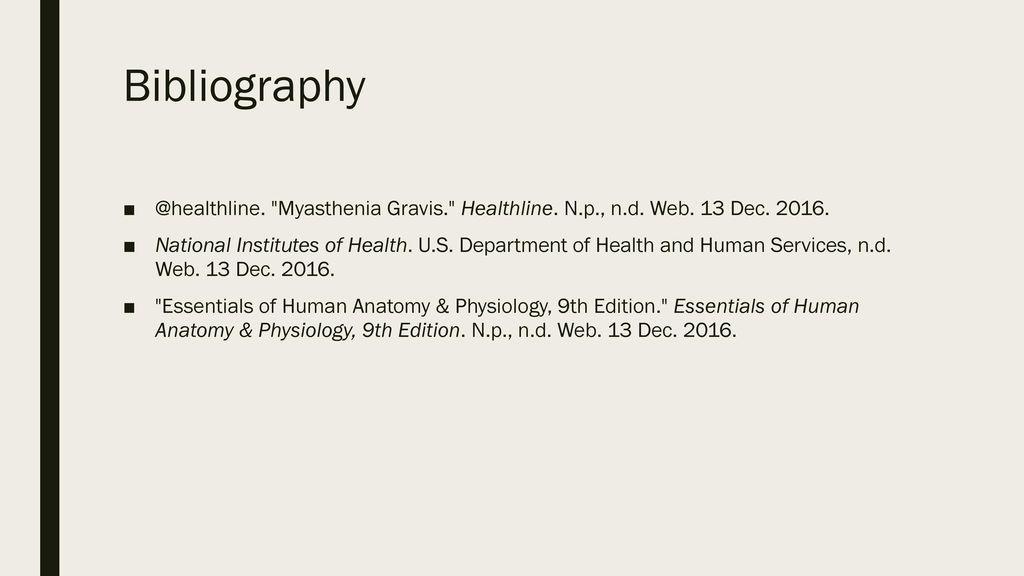 Exelent Anatomy And Physiology Of Myasthenia Gravis Elaboration ...