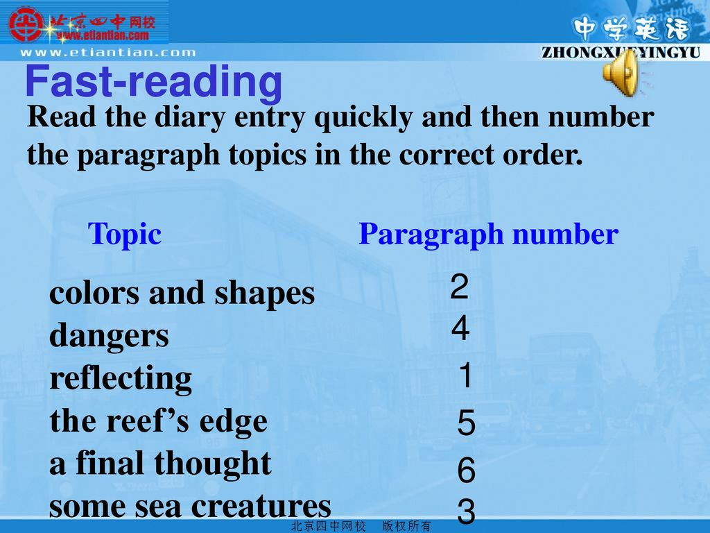 Unit 3 Under The Sea. - ppt download