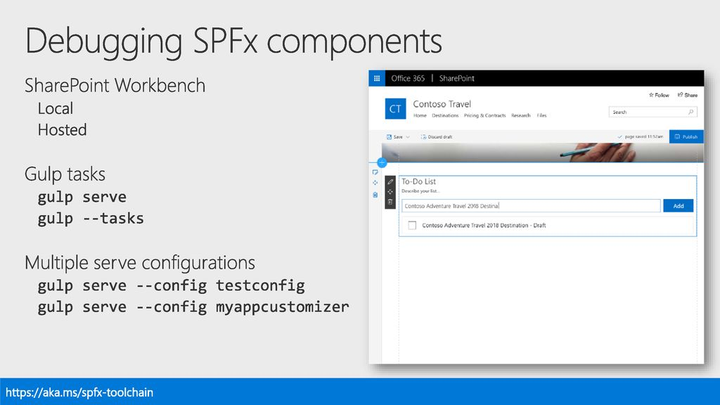 BRK4031: Best practices from Microsoft for developing with SPFx