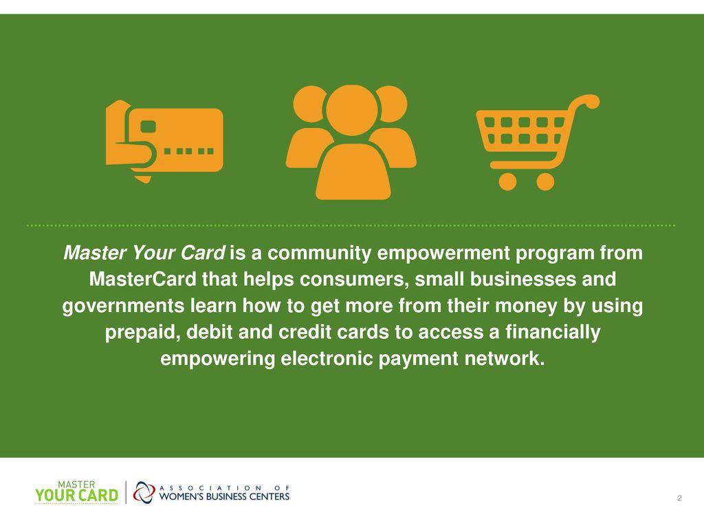 Consider cards over cash - ppt download
