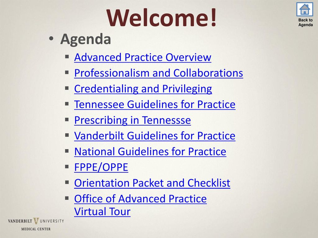Welcome! Agenda Advanced Practice Overview - ppt download