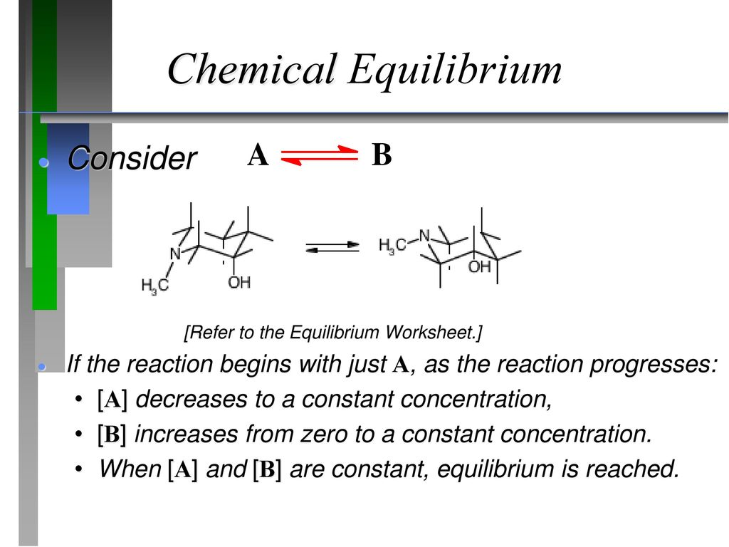 Chemical Equilibrium Dr  Ron Rusay © Copyright R J  Rusay