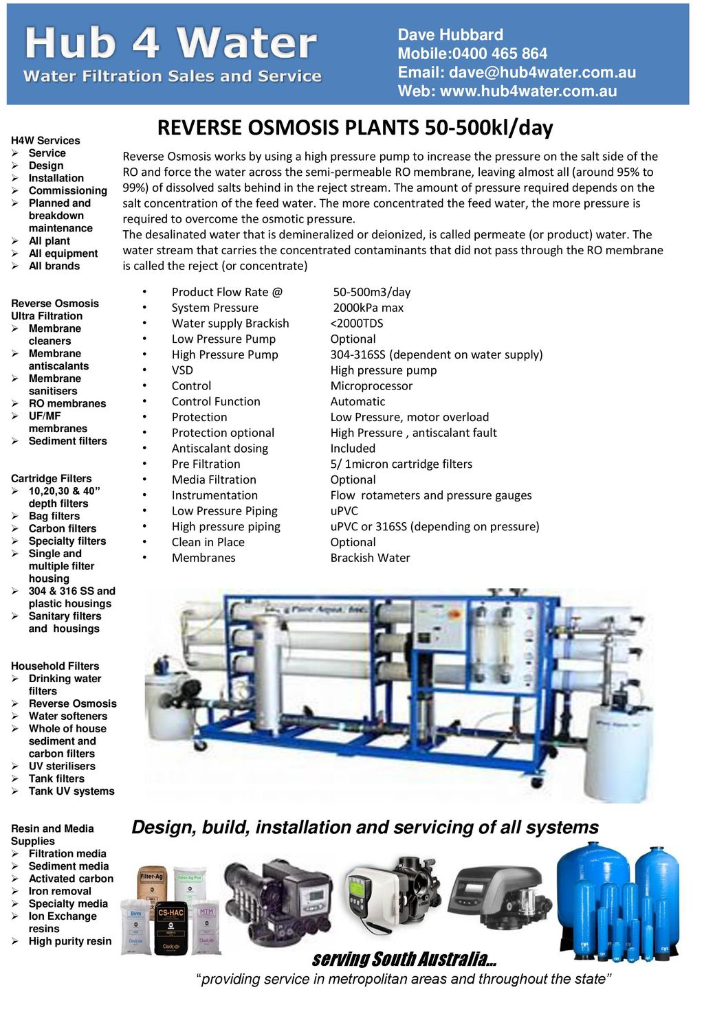 Reverse Osmosis Plants Kl Day Ppt Download Process Flow Diagram Plant