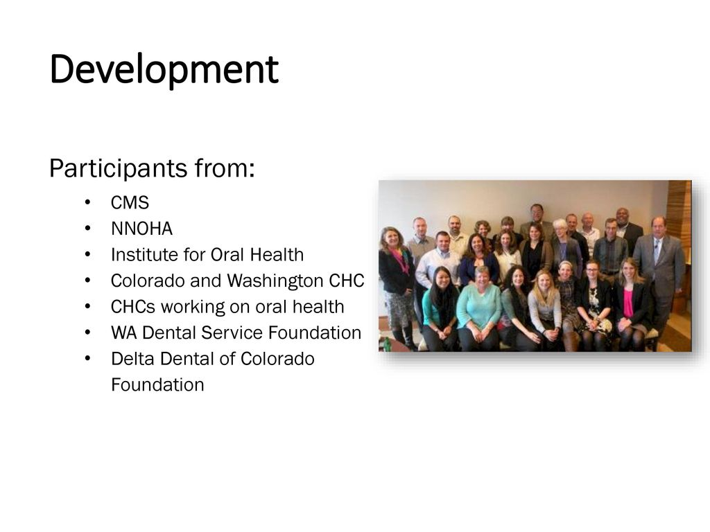 Quality Improvement in FQHCs: The Dental Dashboard - ppt download