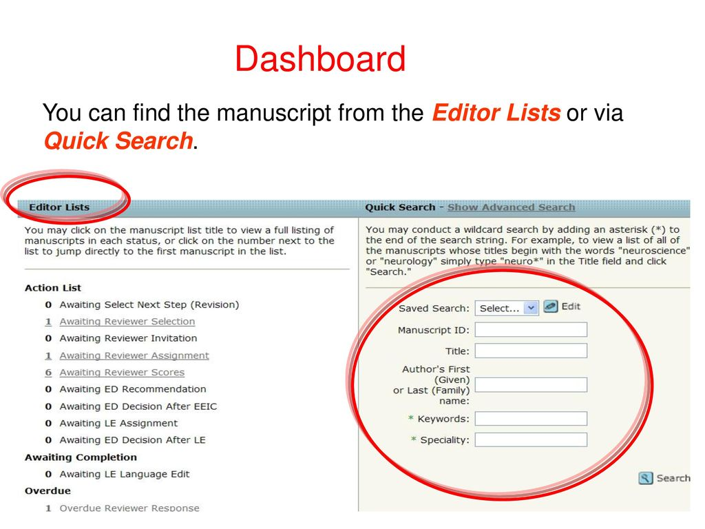 Guide to Editor (ED) Journal of Mountain Science (JMS) - ppt