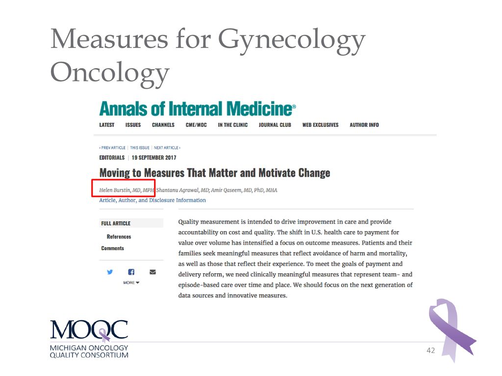 Gynecology-Oncology Initiative - ppt download