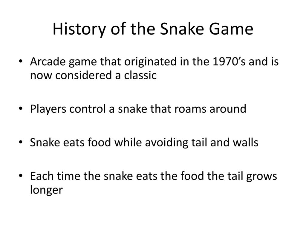 How is the concept of parallelism seen in the snake game