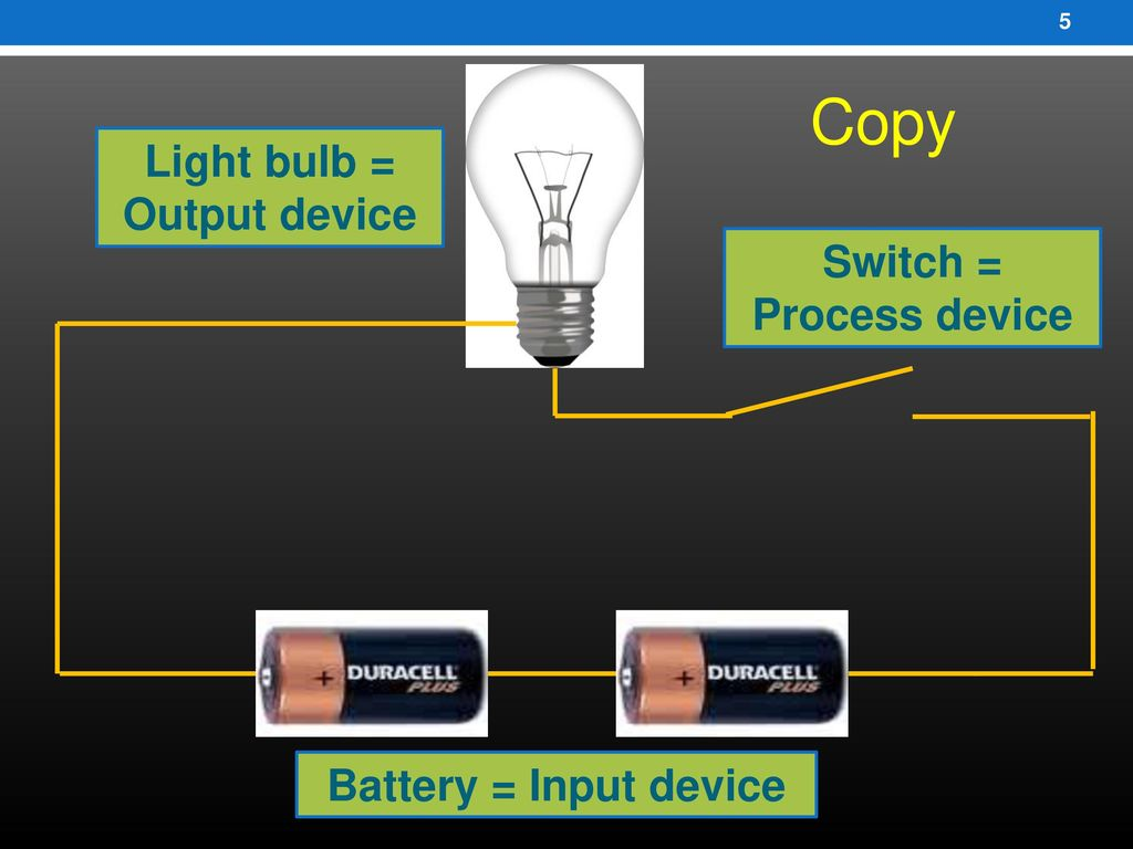 T3t1 Electrical Circuits Ppt Download Electric Circuit With Switch Battery And Lamp A Series 5 Light