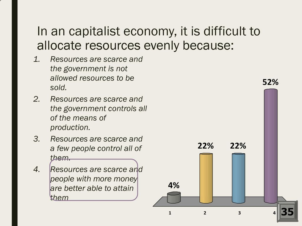 how does the government allocate resources