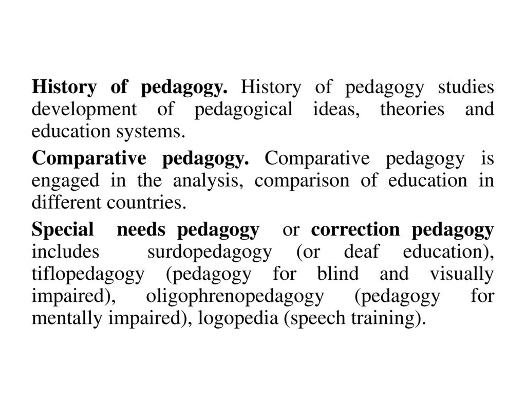 Oligophrenopedagogy is what Fundamentals of oligophrenopedagogy