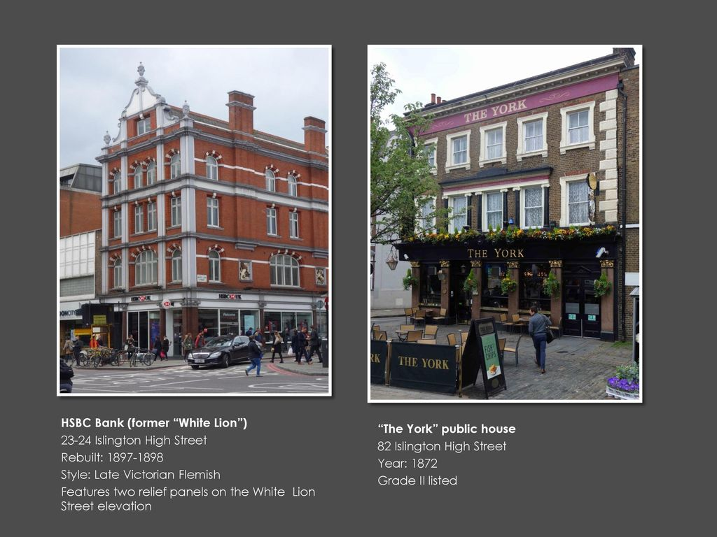 CENTRAL ISLINGTON: AN ARCHITECTURAL WALK - ppt download