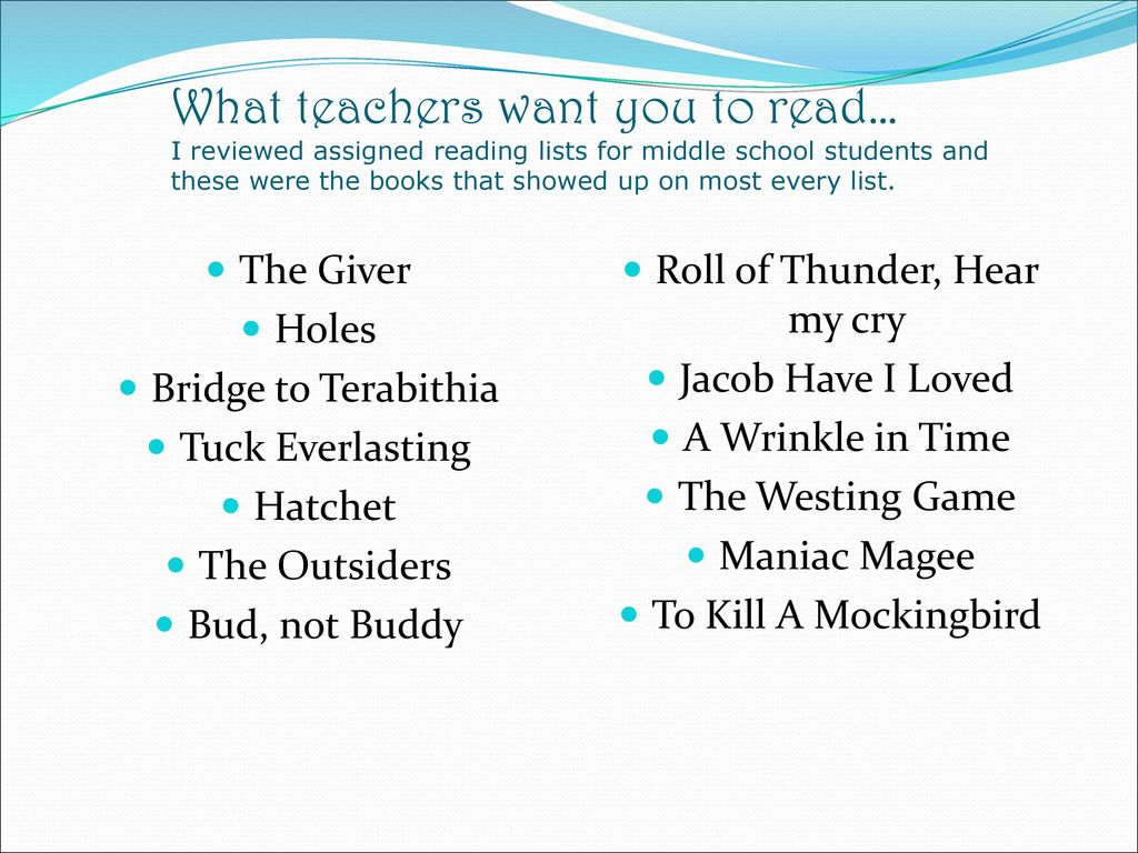 Middle School Library  - ppt download