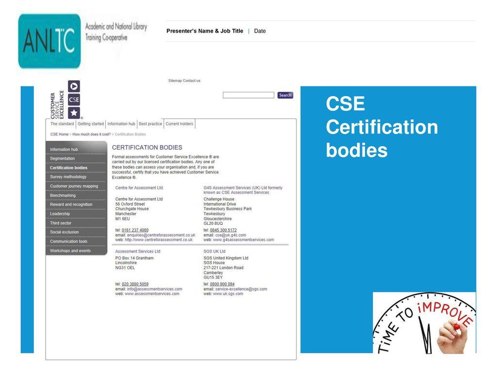 Customer Services Excellence Cse Workshop Ppt Download