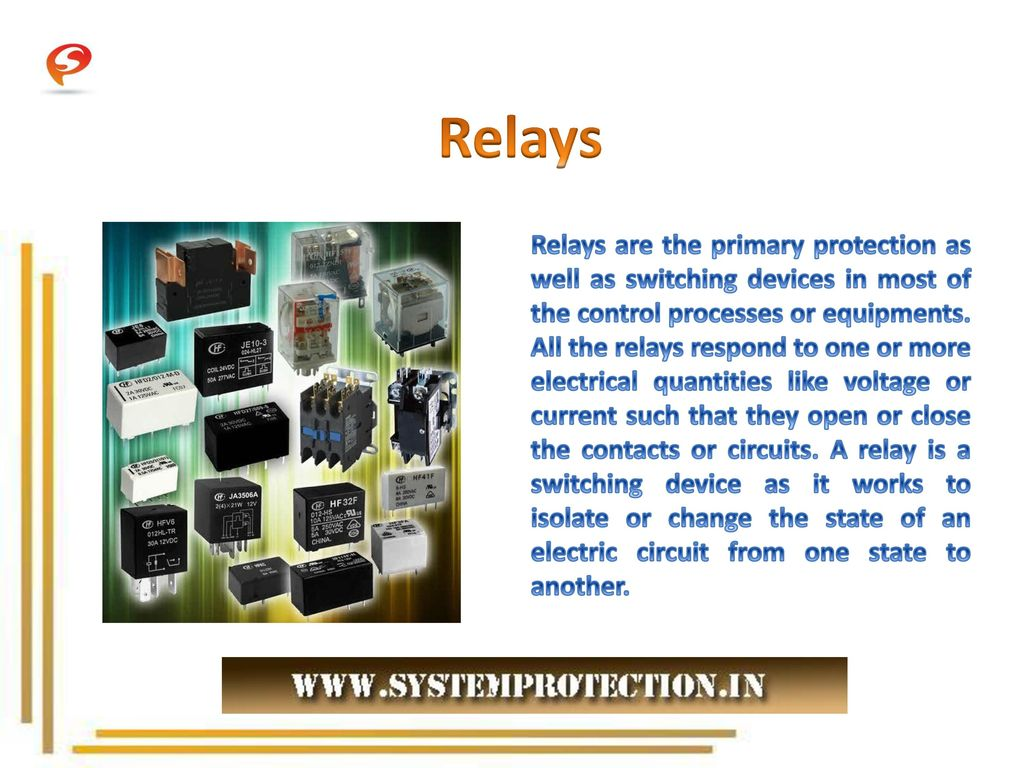 Different Types of Relays. - ppt download