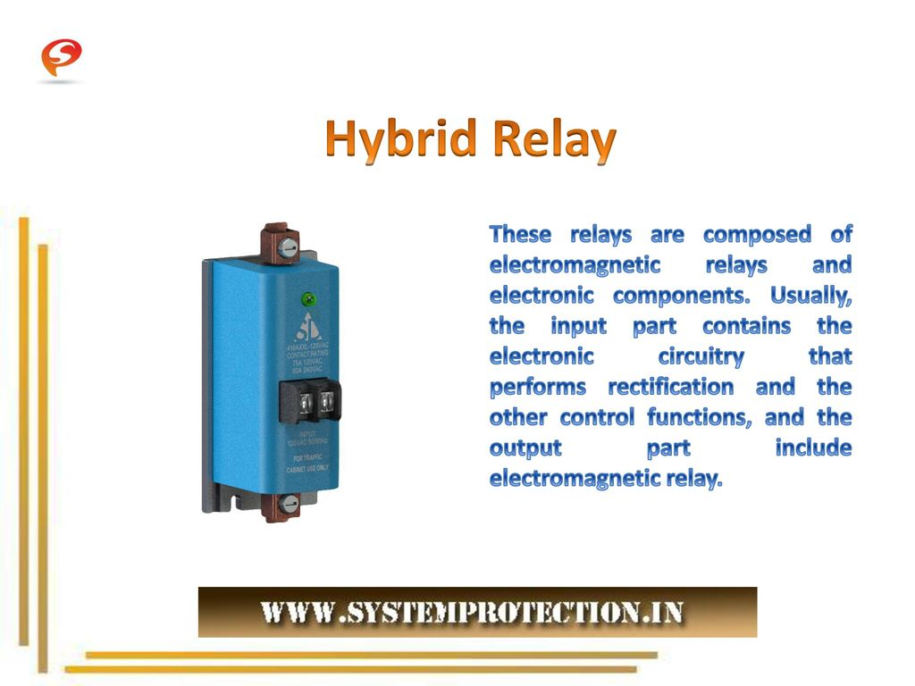 Different Types Of Relays Ppt Download Electromagnetic Relay In Pdf Hybrid