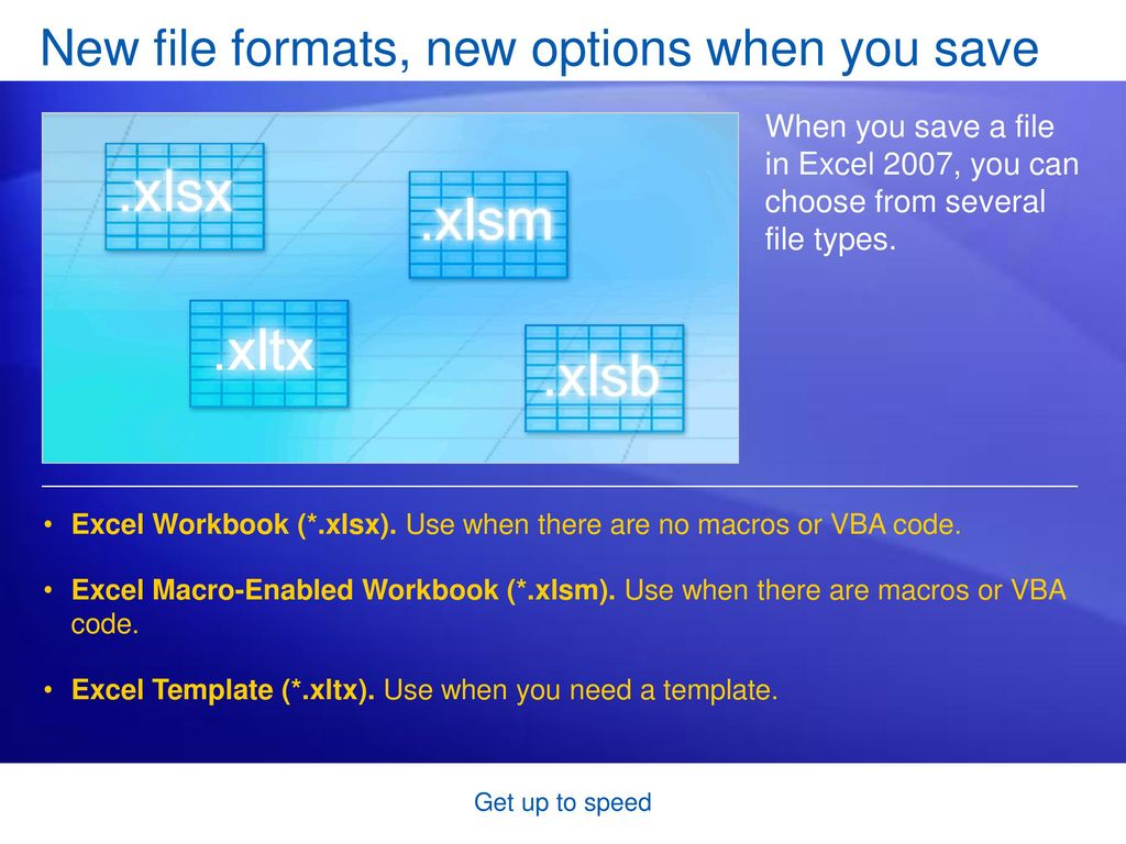 Microsoft® Office Excel® 2007 Training - ppt download