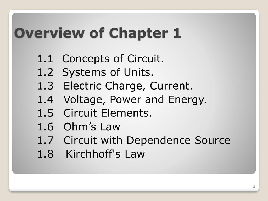 Ekt101 Electric Circuit Theory Ppt Download Electrical The Concept Of Wiring In Parallel And Overview Chapter 1