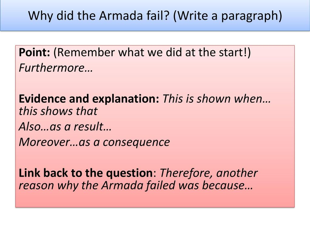 why did the armada fail