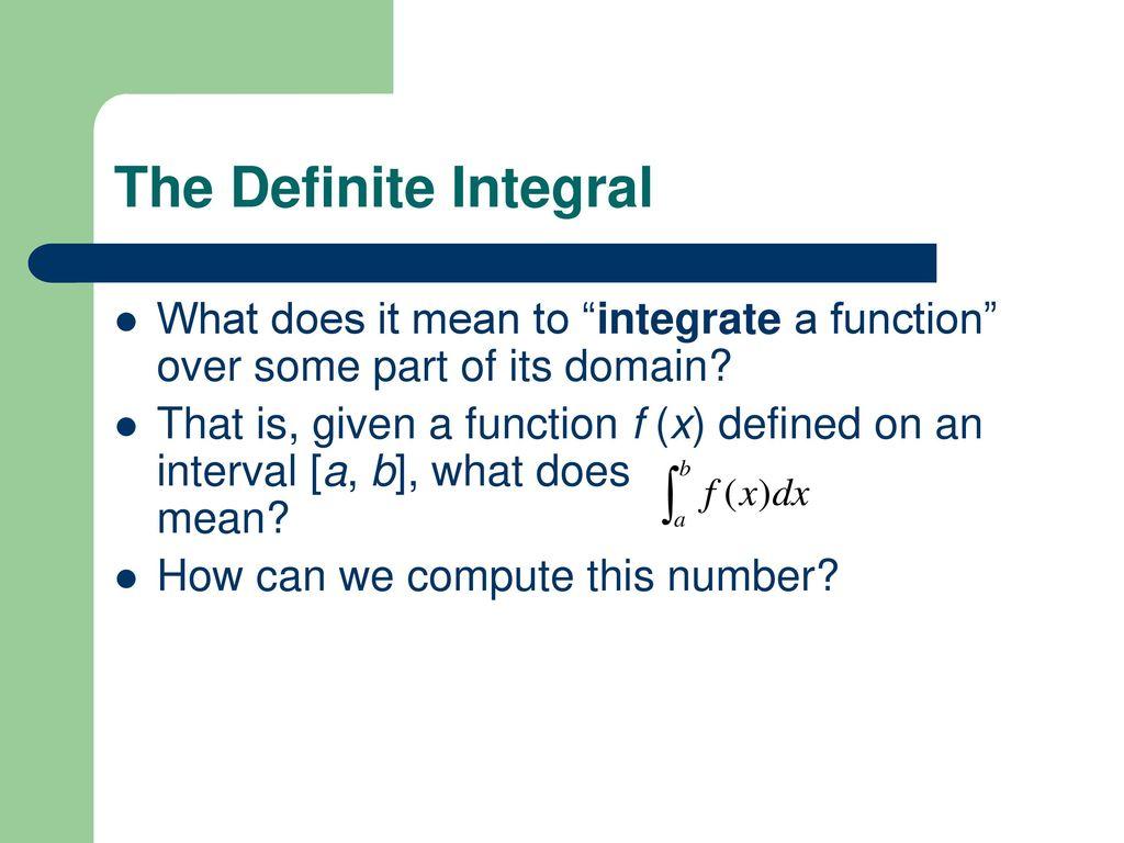 calculus: key concepts (9/8/10) - ppt download