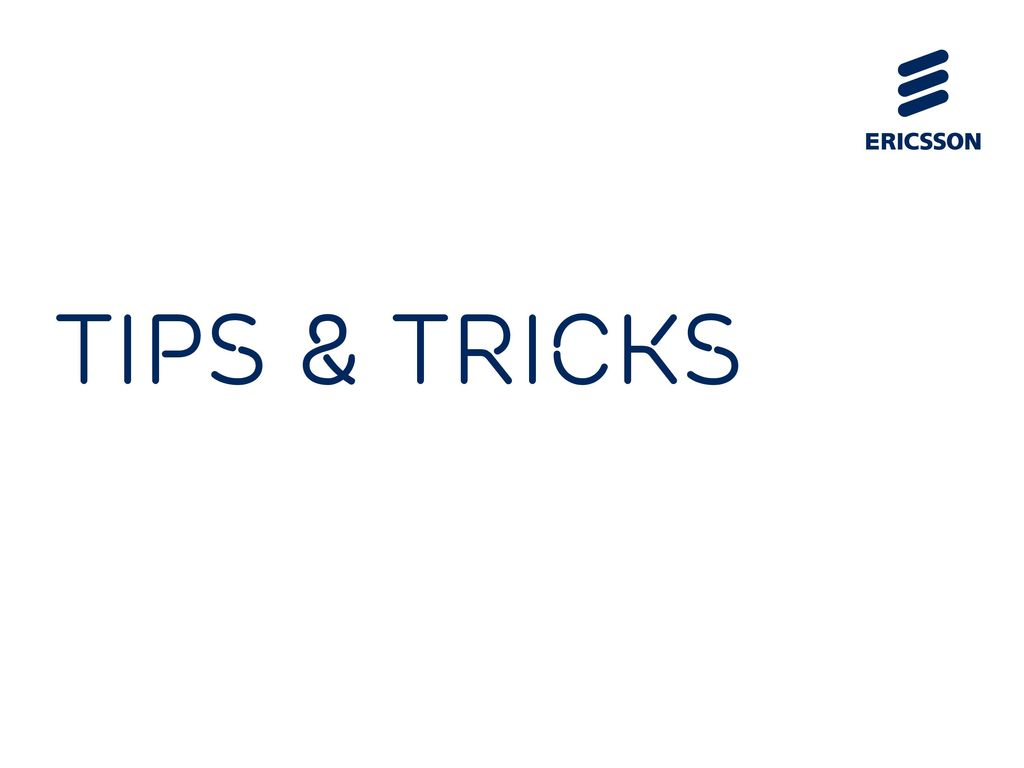 ERICSSON POWER POINT TEMPLATES - ppt download