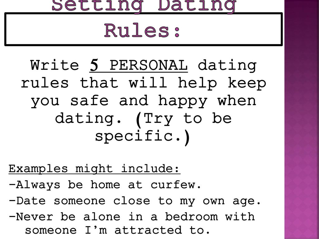 Stay Safe and Stop Getting Hurt By Setting Dating Rules