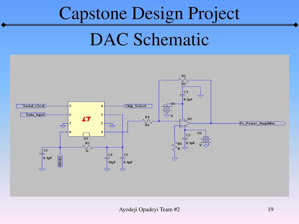 19 DAC Schematic Ayodeji Opadeyi Team #2
