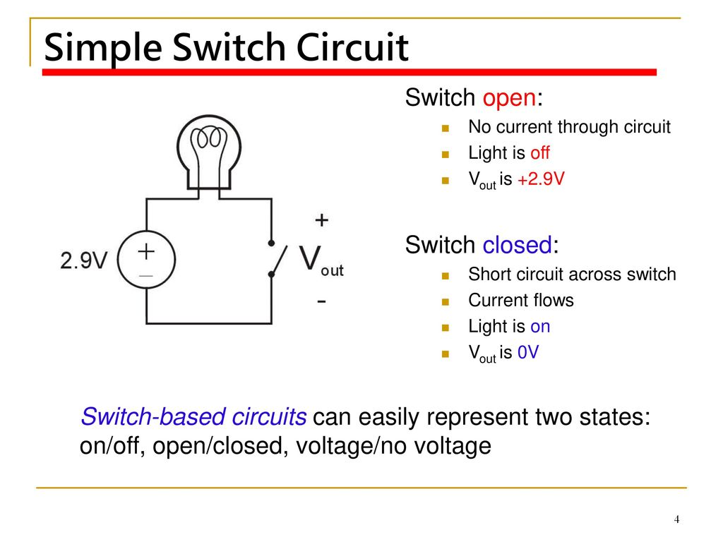 Instructorpo Yu Kuo Ppt Download Voltage Switch Circuit Simple Open Closed