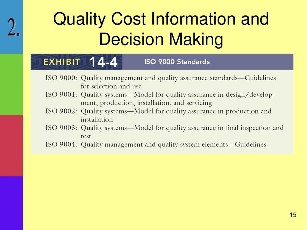 what is cost based decision making