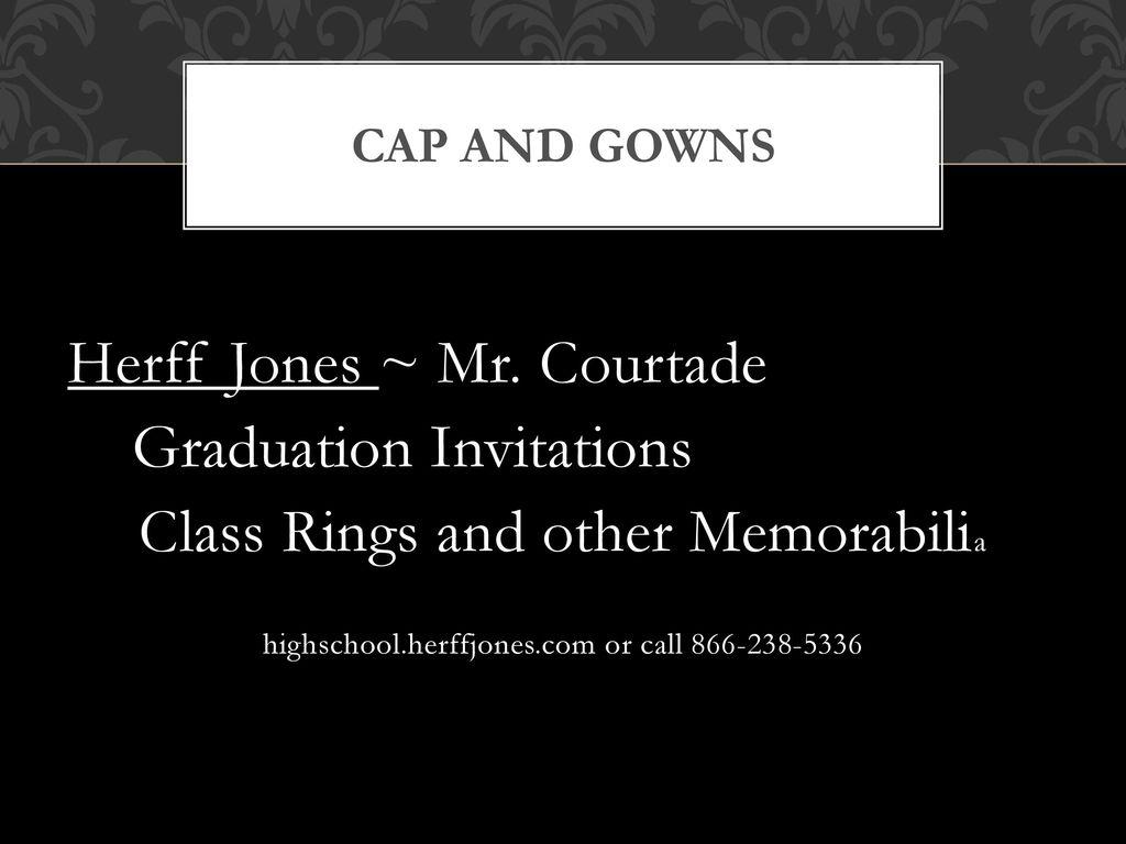 2016 Senior Class Meeting Graduation Ceremony Senior Contract Senior