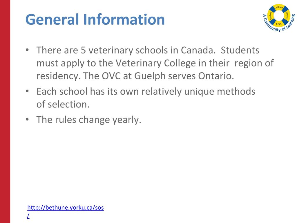 Background information form ovc