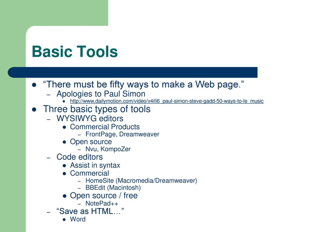 The Web Wizard's Guide to Web Design - ppt download