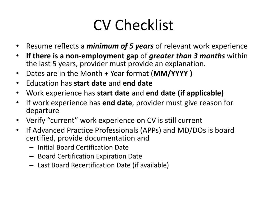 Curriculum Vitae Cv Examples Ppt Download