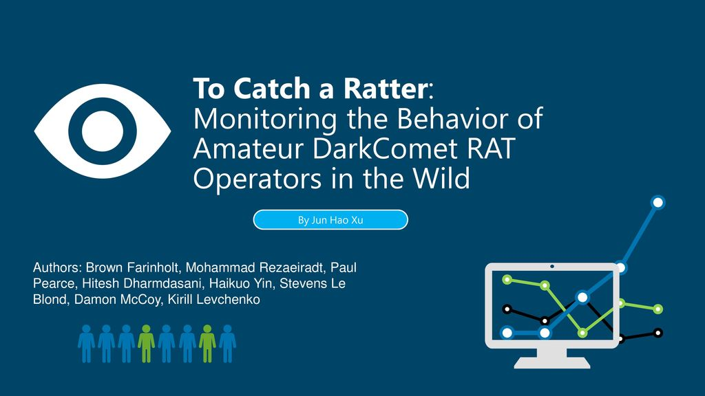 To Catch a Ratter: Monitoring the Behavior of Amateur DarkComet RAT