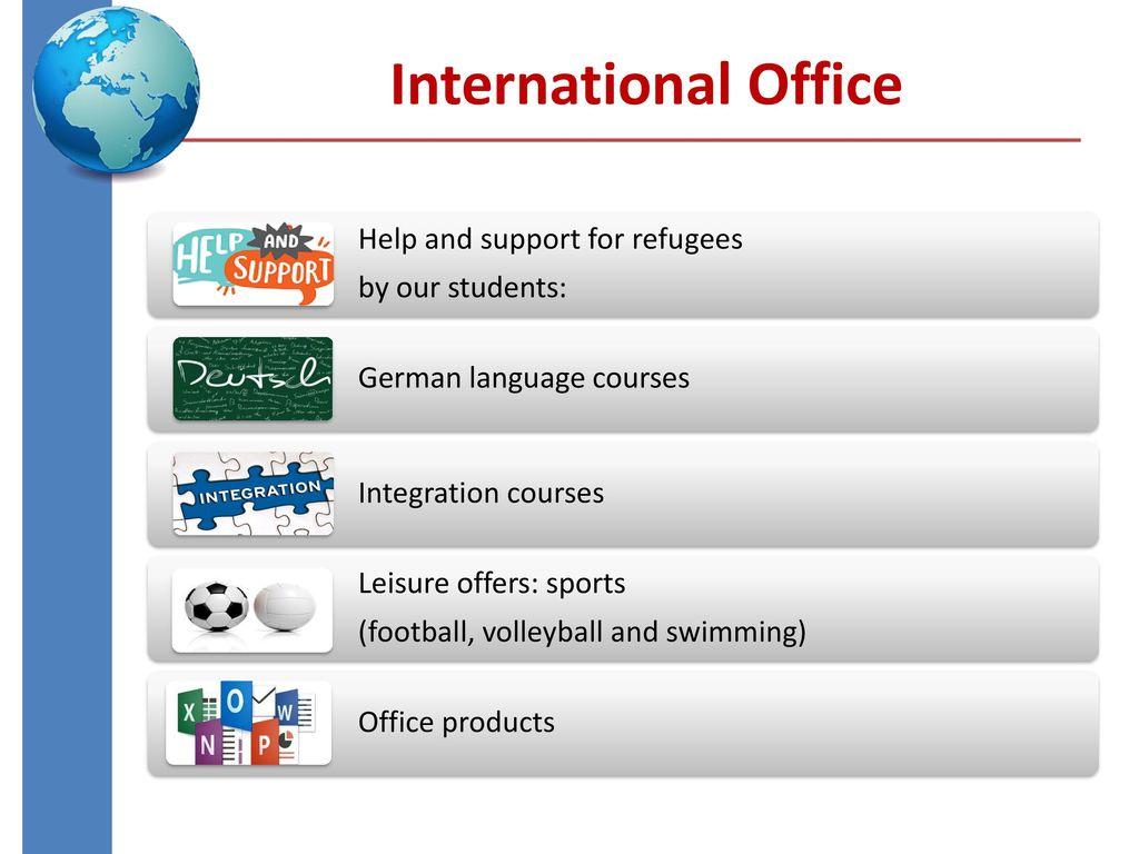 4 International Office ...