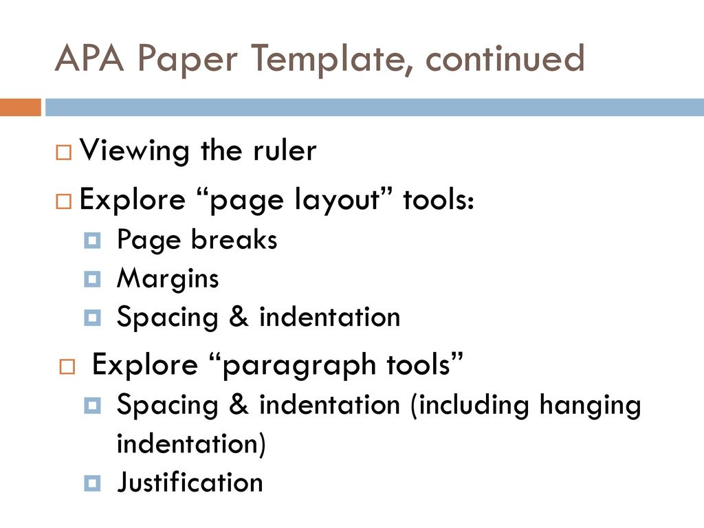 Apa paper template continued ppt download apa paper template continued maxwellsz