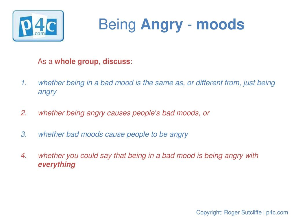 bad mood causes