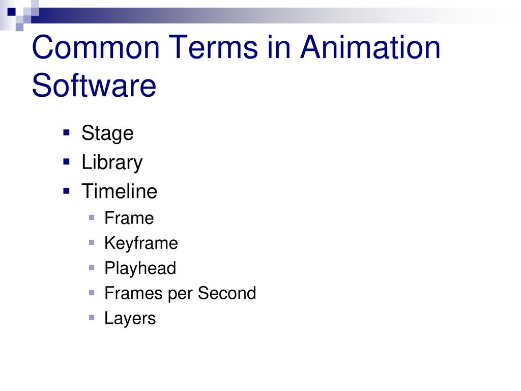 3.02 Computer Animation Software and Design Guidelines - ppt download