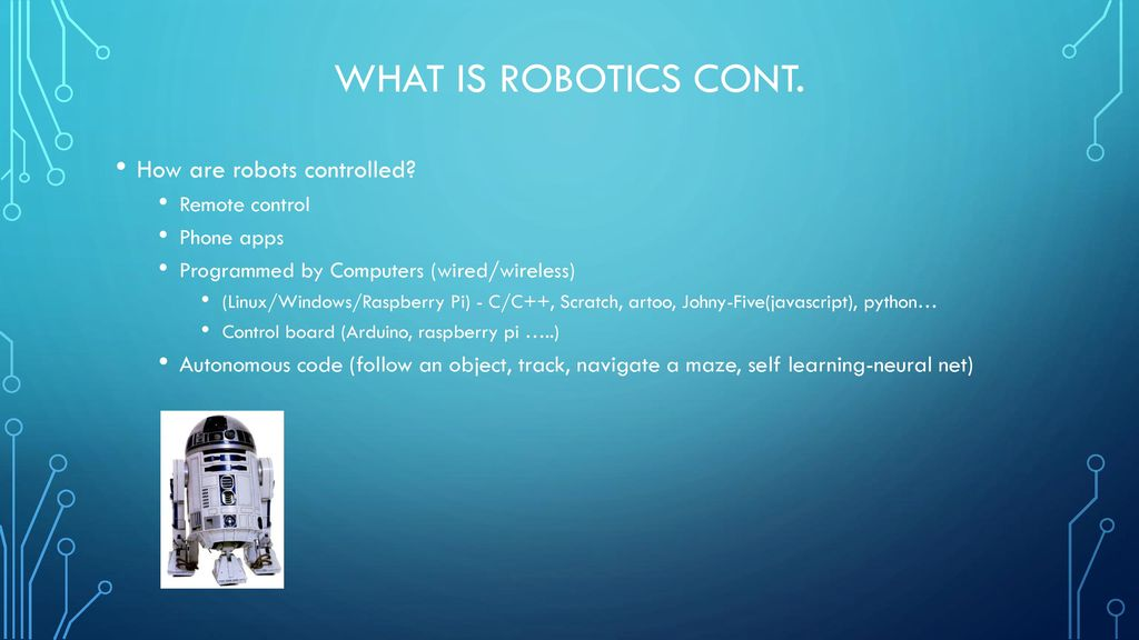 Introduction to robotics essentials, Registration and Orientation