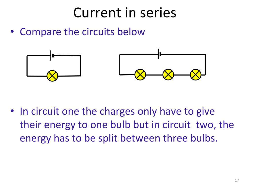 In Teams Write Down As Many Lab Safety Rules Possible Ppt Download Series Versus Parallel Circuits Current Compare The Below