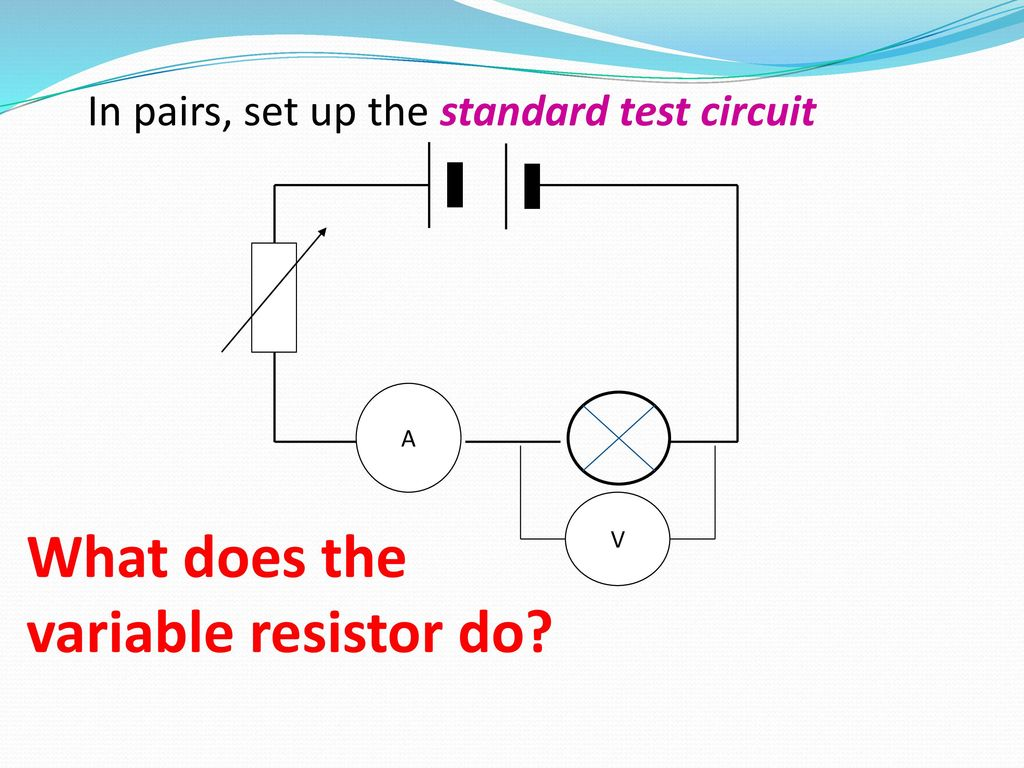 Electromotive Force And Potential Difference Ppt Download What Does A Resistor Do In Circuit 13 The Variable