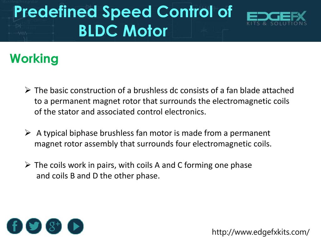 Predefined Speed Control Of Bldc Motor Ppt Download Permanent Magnet Brushless Dc Circuit Diagram