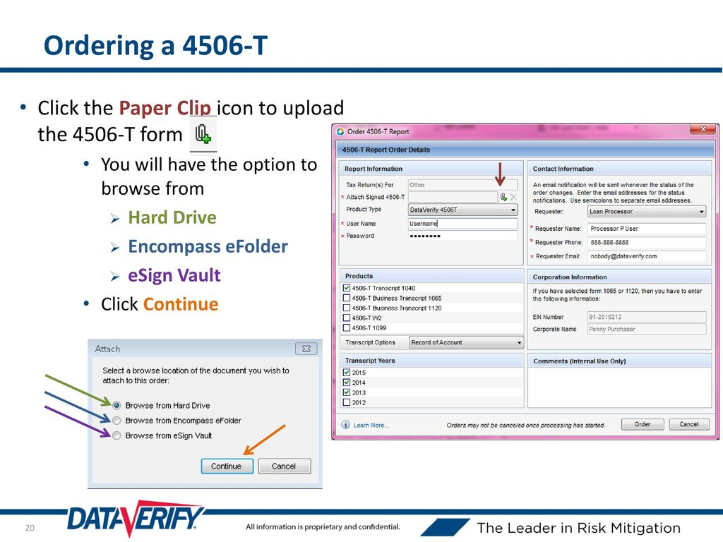 Encompass TQL® Integration - ppt download
