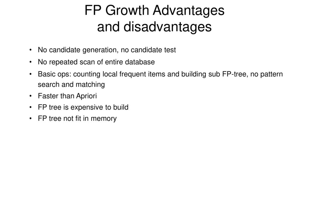 Fp growth algorithm source code in c