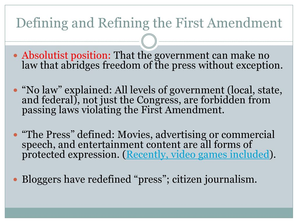 media, freedom, regulation, and ethics - ppt download