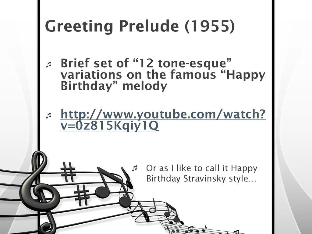 Stravinskys greeting prelude best nail polish 8 greeting prelude m4hsunfo