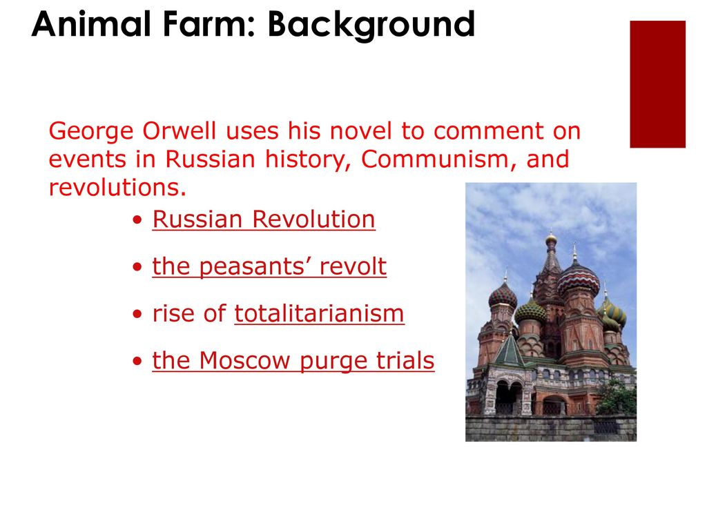 moral of the story animal farm by george orwell