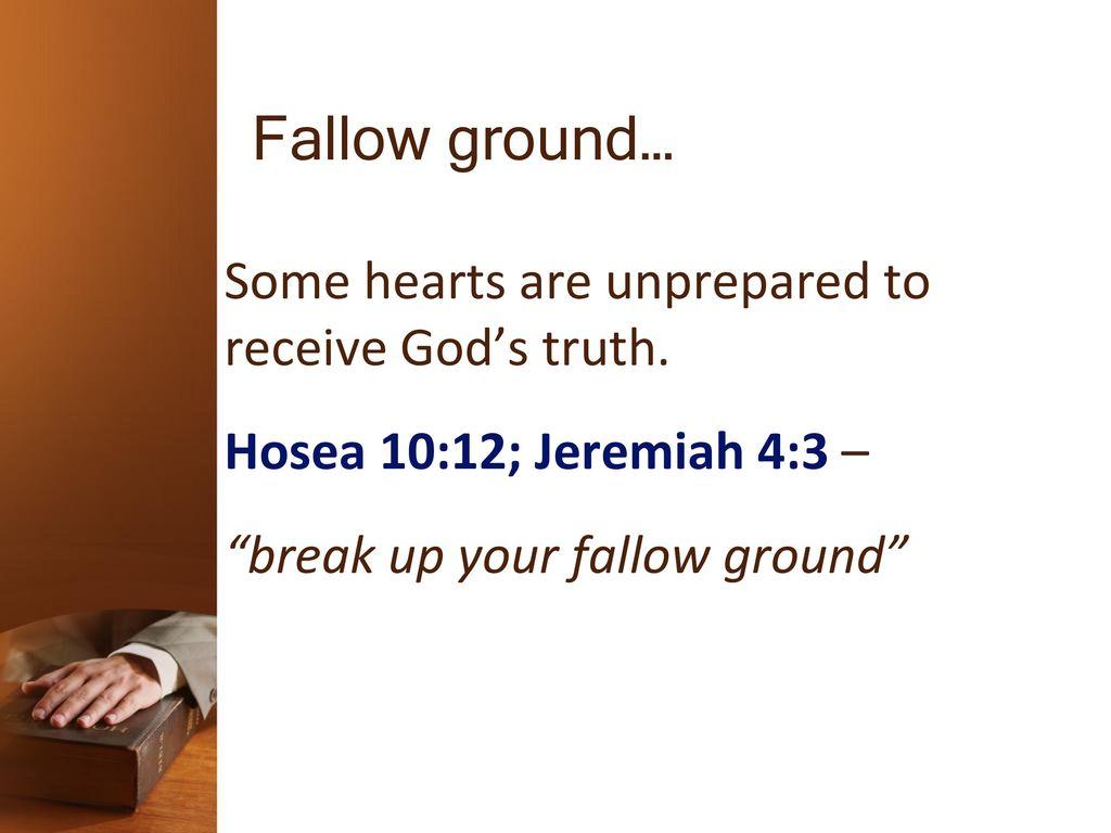 5 Fallow Groundu2026