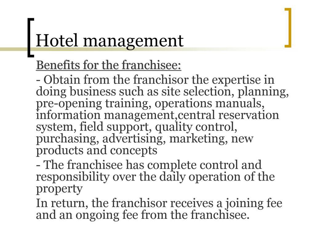 manuals Array - hospitality management ppt download rh slideplayer com
